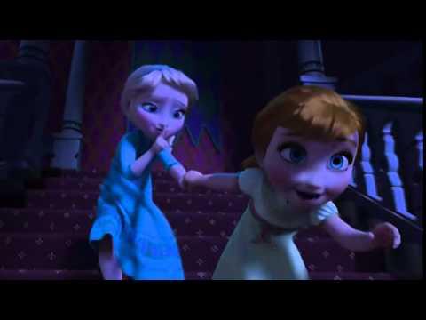 Frozen Pelicula Anna y Elsa ¿Y si hacemos un muñeco de nieve? Español