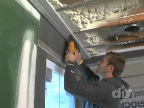 How to install beadboard ceiling in any room.   This video is part of   Blog Cabin 2010 show   hosted by Matt Muenster . SHOW DESCRIPTION :Blog It. Build It. Win It. DIY Network's crew of home improvement experts build the cabin you helped design. When it's done, one lucky winner is going to call it home.