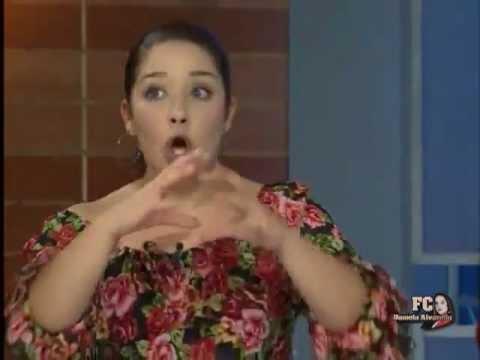Daniela Alvarado Entrevista con Luis Chataing 2012