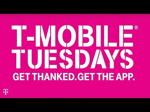 T-Mobile | Un-carrier 11 | #GetThanked Every Tuesday