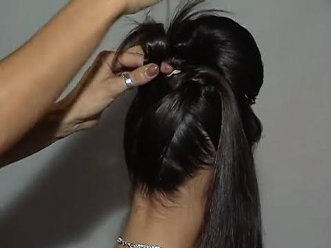 penteados passo a passo