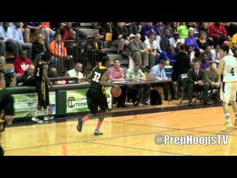 Mott Community College commit Malik Albert 2012 Detroit King vs De La Salle