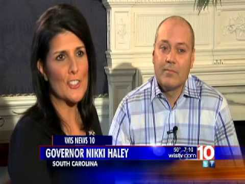Governor Nikki Haley and First Gentleman Michael Haley on Being Home for Christmas