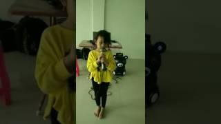 เจ้หลินเรียนร้องเพลงกับครูโอปอ