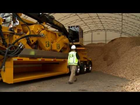 CBI 754 Disc Chipper with CBI 604 Flail