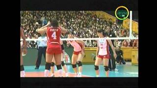 Peru 1 vs Japon 3 - Mundial de Voley 2010 Set III 1/3 HD