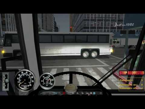 [HD] City Bus Simulator Gameplay