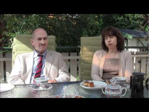 Parents of Alexander Rybak - father Igor and mother Natalia