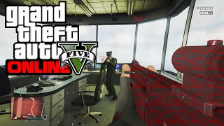 "*NEW* GTA 5 - ""HOW TO GET IN AIR CONTROL TOWER IN MILITARY BASE"" (GTA V)"