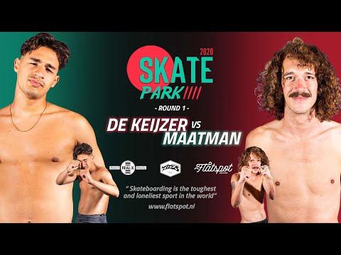 Game of SKATEpark 4 - Game #3 - Jelle Maatman vs Jay de Keijzer