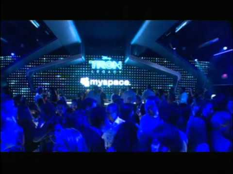 Tron Legacy - MySpace Comic Con Party Footage