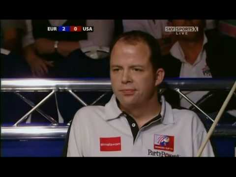Mosconi Cup 2008 -  Day 1 Match 3 - Immonen vs Jones 1/5
