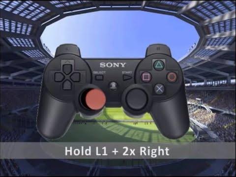 PES 2011 - PS2 Skills tutorial / Tutorial de dribles para PS2 [HD]