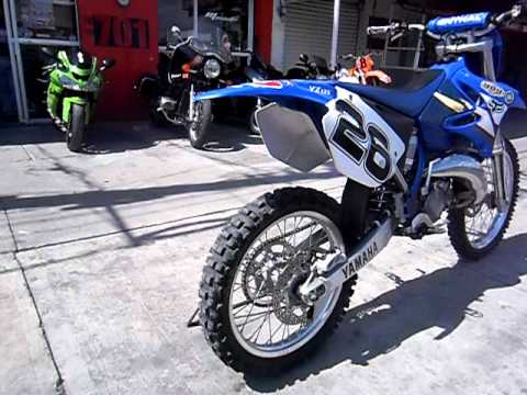 yamaha cross yz 125 2t 2003 motoshop celaya youtube. Black Bedroom Furniture Sets. Home Design Ideas