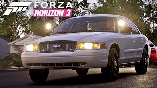 Forza Horizon 3 - Let's Drive the Crown Vic (2010 Ford Crown Victoria Police Interceptor)