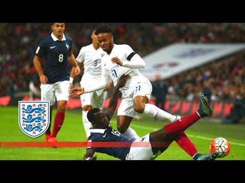 England 2-0 France (Exclusive) Pitchside & Action Cam | Snapshots
