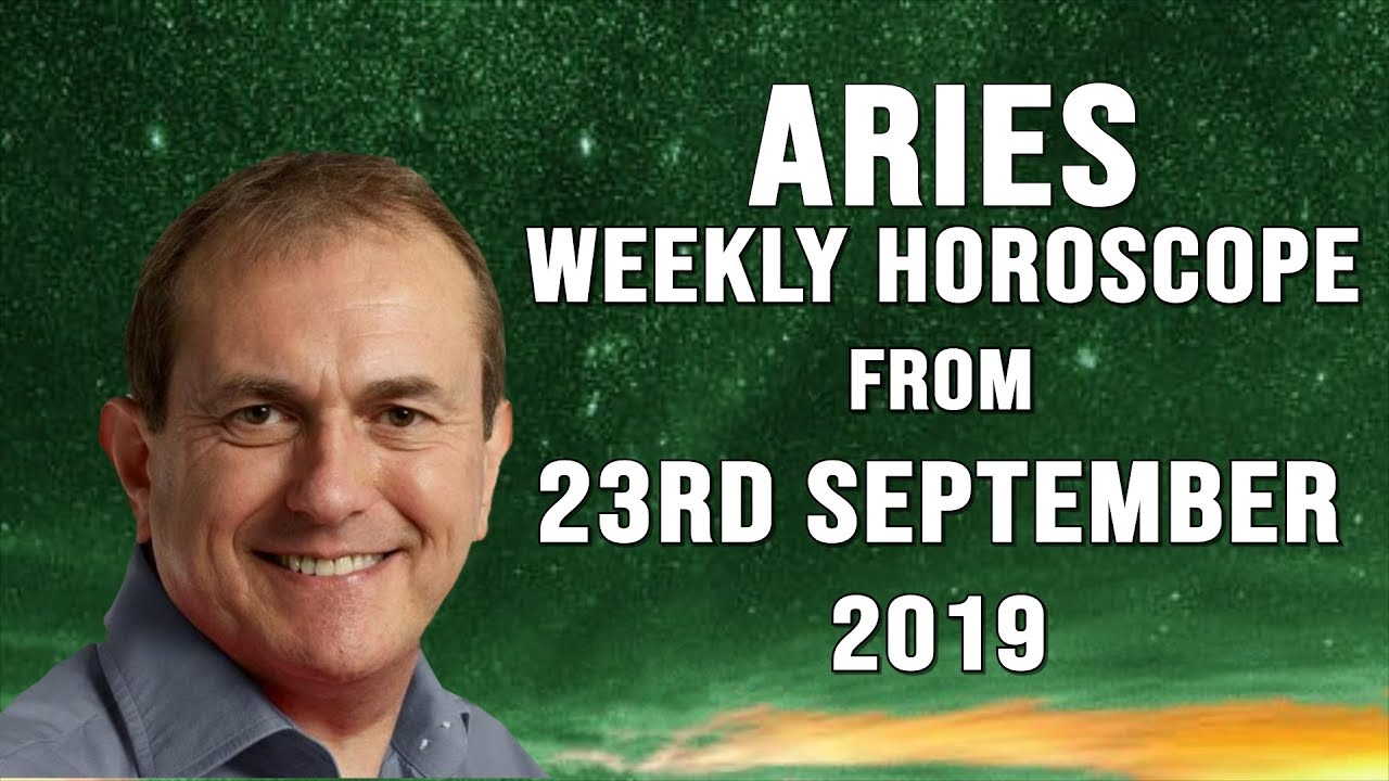 Weekly Horoscopes from 23rd September 2019