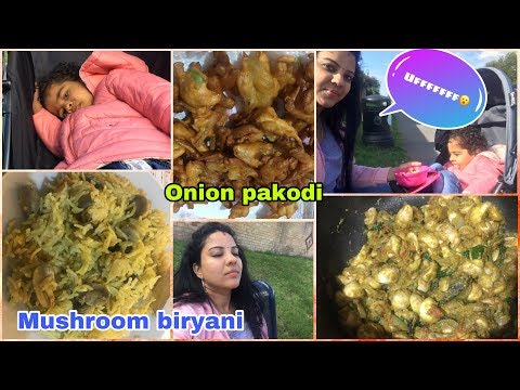 #FIRDAY VLOG/FOR THOSE WHO MISSED YASH AND MADHAV'S SONG  | MUSHROOM BIRYANI | ONION PAKODI