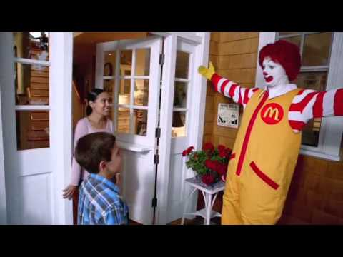 Mcdonalds Ronald Gram Commercial