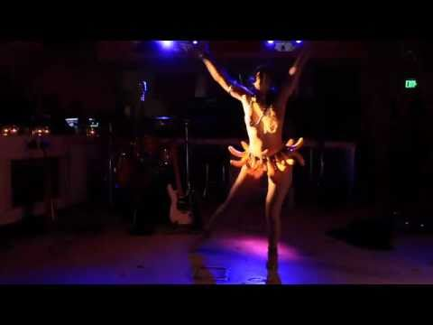 Rasa Vitalia: Creative Cabaret Dance -Tribute to Josephine Baker - Supperclub 2.13.11. Banana Dance!