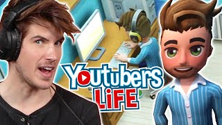 """YouTuber Joey Graceffa Tries Playing """"YouTubers Life"""" • Pro Play"""