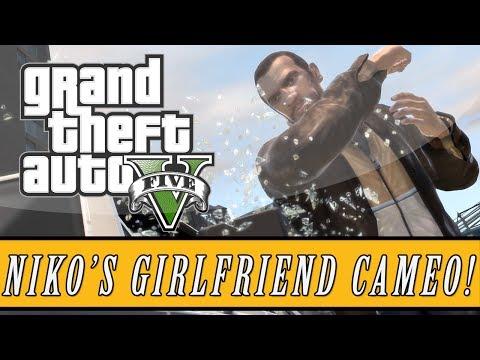 "Grand Theft Auto 5 | Niko Bellic's Girlfriend ""Michelle"" Cameo Easter Egg! (GTA 5 Easter Eggs)"