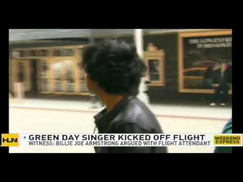 BILLIE JOE ARMSTRONG kicked off flight for bad fashion
