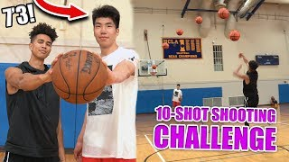 *NEW* Basketball Challenge vs #1 Ranked *7 FOOT 3* 15 Year Old Kid!