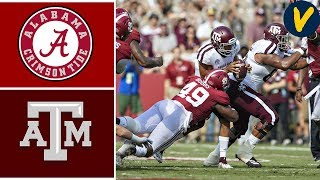 #1 Alabama vs #24 Texas A&M | Week 7 | College Football Highlights | 2019