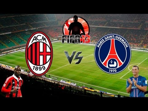Fifa 13 - Milan vs PSG - Melhores Momentos
