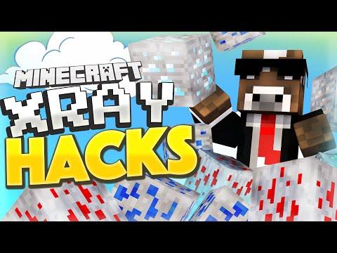 OP XRAY HACKS ( Minecraft Funny Videos & Moments - Bridges )