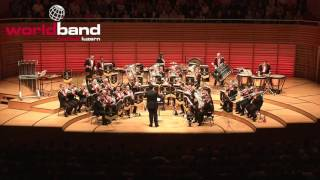 Black Dyke Band plays Wheel Of Fortune - Brass-Gala 2016 (4)