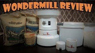 WonderMill Electric Grain Mill Unboxing, Testing, and Review!
