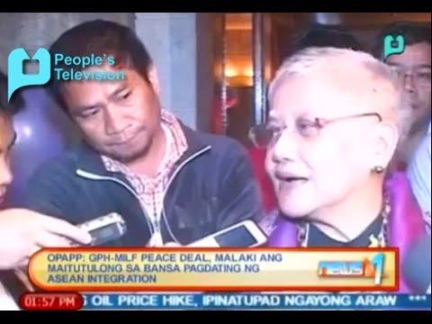 OPAPP: GPH-MILF peace deal, malaki ang maitutulong sa bansa pagdating ng ASEAN Integration