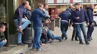 Spartak Moscow vs CSKA Moscow hooligans fight 23.09.2018