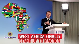 Macron Demands 5 West African Leaders Come To France To End Anti-French Sentiment