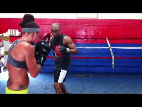 Stacey stayLo Reile on pads with Maury from Spain 7