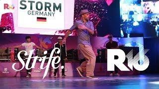 Bboy Storm Judge Showcase @ R16 Korea World Finals 2014