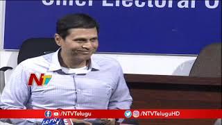 CEO Rajat Kumar Press Meet over Delay in Vote Counting Process - NTV - netivaarthalu.com