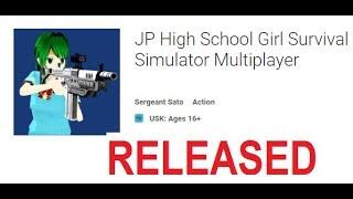 RELEASED! JP High School Girl Survival Simulator Online Multiplayer CO-OP or Deathmatch ♥KAWAII MIKU