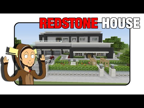 Minecraft Redstone House [Fully Functioning]  Minecraft Xbox