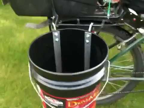 DIY Homemade Bicycle Panniers