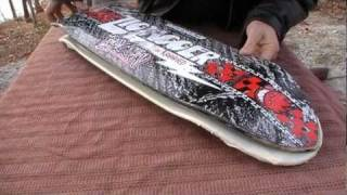 HOW TO: Re-Shape a Used Skateboard into Custom Cut DIY Cruiser