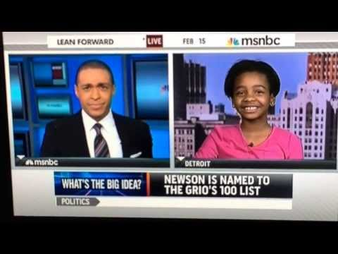 MSNBC Live Interview with Asia Newson (aka Super Business Girl)