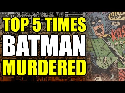 Top 5 times Batman killed people