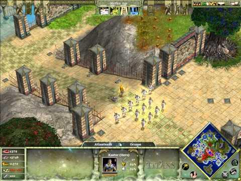 Age of Mythology - The Titans M11: Atlantis Betrayed [2/2]