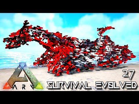 ARK: SURVIVAL EVOLVED - PERFECT EVO WYVERN UNKNOWN & INFERNAL SABER !!! E27 (MOD ARK ETERNAL)