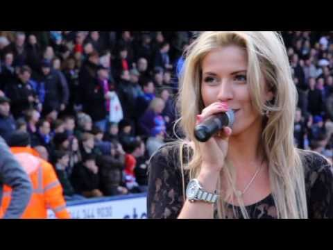 Hallelujah Kim Alvord , Crystal Palace CPFC Family Day ,