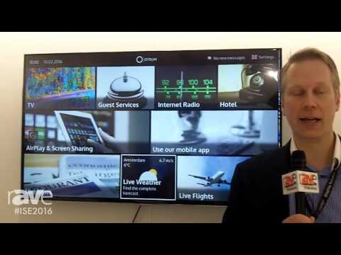 ISE 2016: Otrum Displays a Hospitality TV Solution