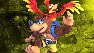 Banjo - Kazooie Are In Super Smash Brothers Ultimate | GameSpot Live